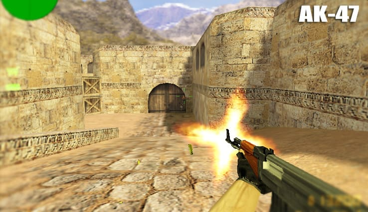 Все о AK-47 в Counter Strike 1.6