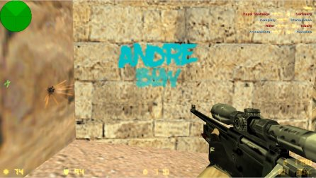 Counter-Strike 1.6 Andrey Bow > скриншот 4