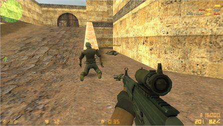 Counter-Strike 1.6 GO edition скриншот 3