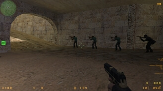 Counter-Strike 1.6 GTA скриншот 1