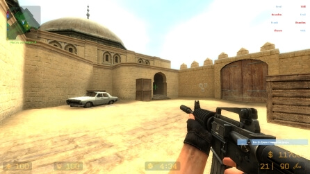Counter-Strike Source V90 скриншот 1
