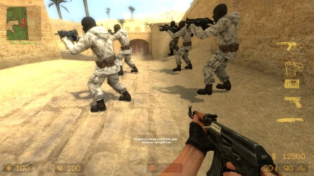 Counter-Strike Source V90 скриншот 3